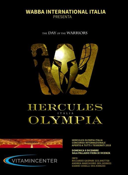 Hercules Olympia Italy
