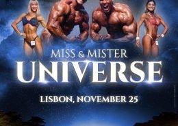 Poster Mr Universe 2018