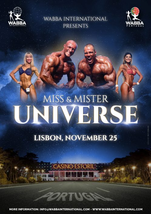 Poster Mr Universe 2018
