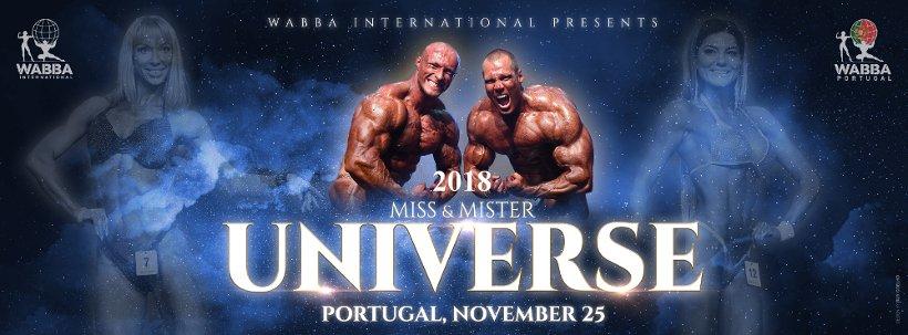 Mr Universe 2018