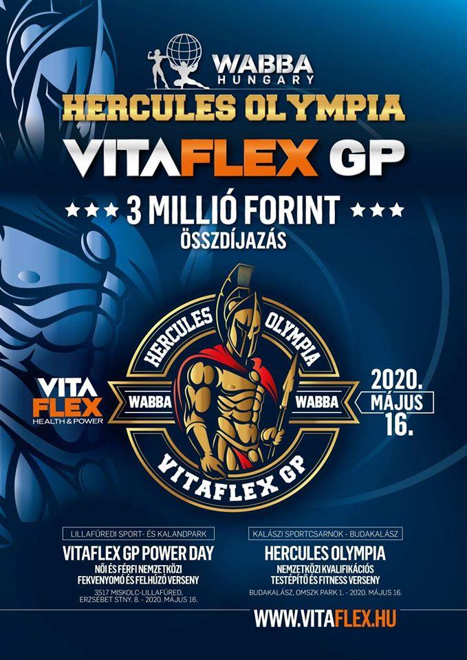 Locandina completa Hercules Hungary 2020 spring