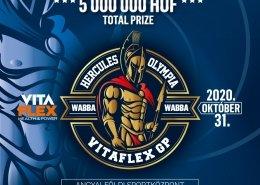 Hercules Olympia Hungary 2020 poster