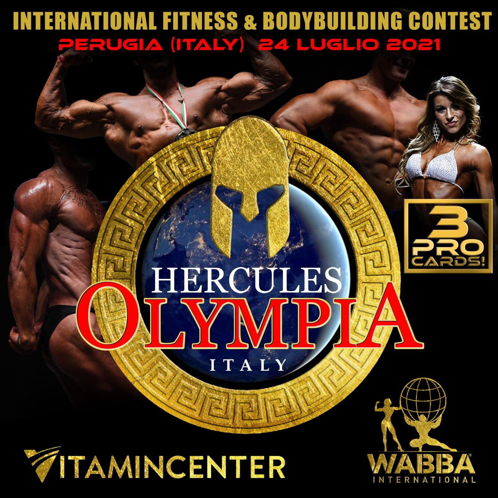 Hercules Olympia Italy July 2021