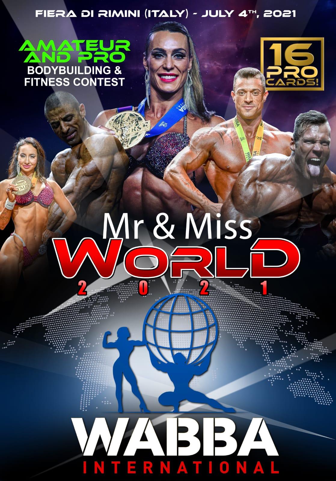 WABBA International world championship 2021 poster