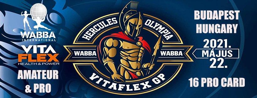 Banner Hercules Olympia Hungary 2021 (Budapest)