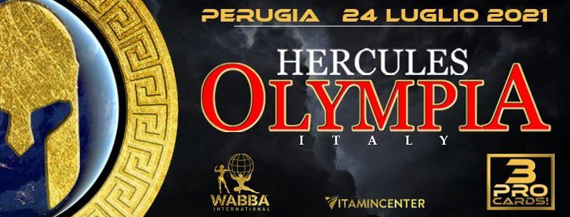 Banner Hercules Olympia Italy July 2021