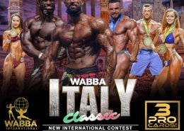 Locandina wabba italy classic 2021