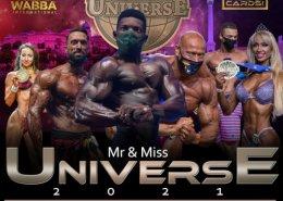 Locandina mr universe 2021