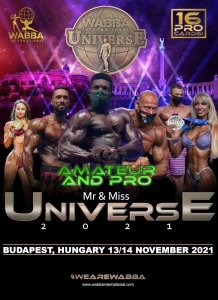 Poster of the Mr/Ms Universe 2021
